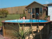 Plastica 5.6m Wooden Pool Hampstead Premium